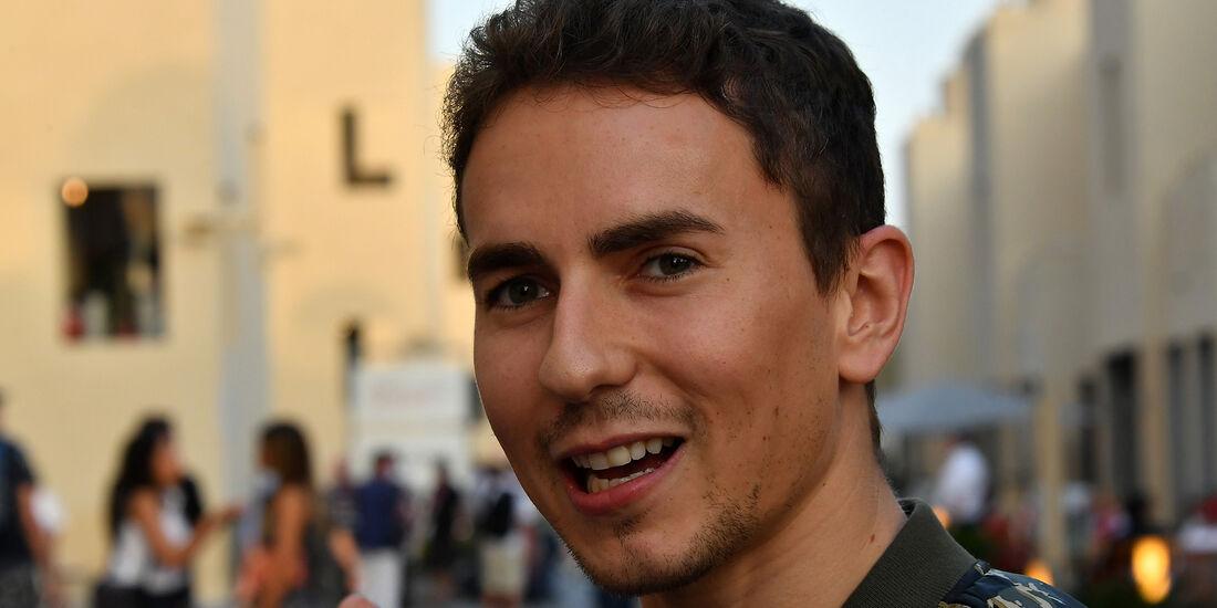 Jorge Lorenzo - MotoGP-Pilot - Formel 1 - GP Abu Dhabi - 26. November 2016