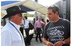 Juan-Pablo Montoya & Mario Andretti - Formel 1 - GP Italien - 4. September 2014
