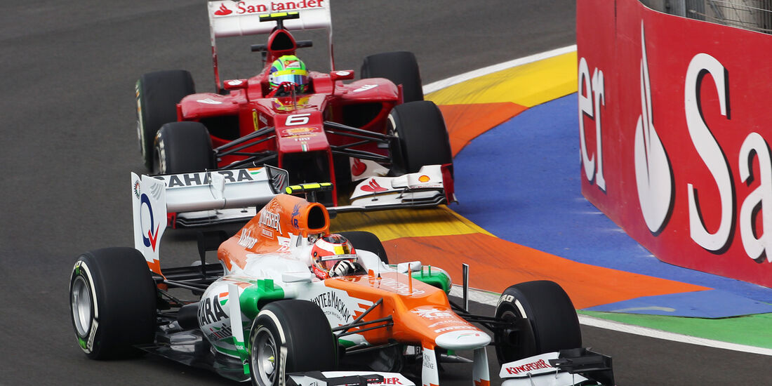 Jules Bianchi - Force India - GP Europa - Valencia - Formel 1 - 22. Juni 2012