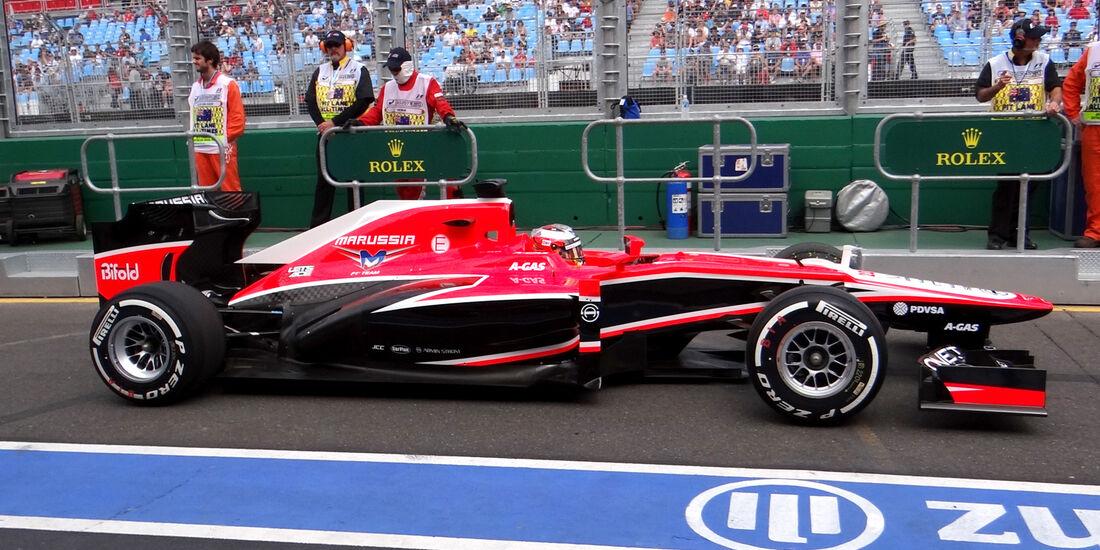 Jules Bianchi - Marussia - Formel 1 - GP Australien - 15. März 2013