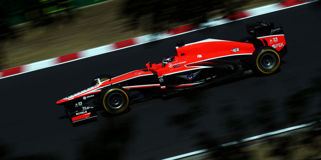Jules Bianchi - Marussia - Formel 1 - GP Ungarn 2013