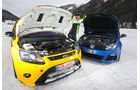 KL Racing-VW Golf R, Wolf-Ford Focus RS, Motoren