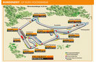 KTM 1190 RC8 R, Grafik, Rennstrecke