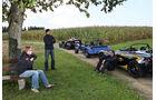 KTM  X-Bow, Caterham CSR 260, Lotus 2-Eleven