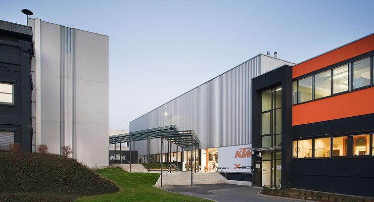 KTM X-Bow Produktionsstätte