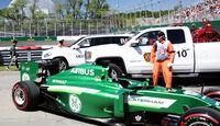 Kamui Kobayashi - Caterham - Formel 1 - GP Kanada - Montreal - 7. Juni 2014