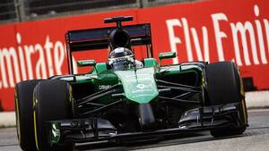 Kamui Kobayashi - Caterham - Formel 1 - GP Singapur - 19. September 2014