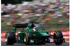 Kamui Kobayashi - Caterham - Formel 1 - GP Ungarn - 26. Juli 2014