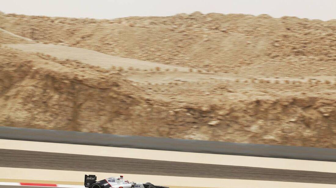 Kamui Kobayashi - Formel 1 - GP Bahrain - 20. April 2012