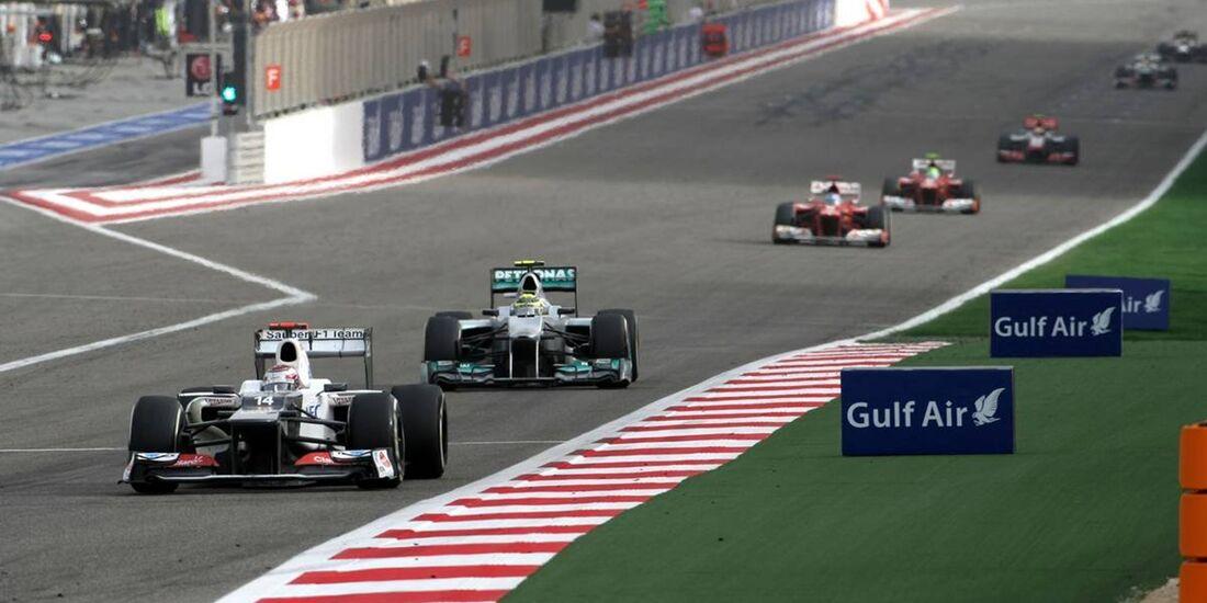 Kamui Kobayashi  - Formel 1 - GP Bahrain - 22. April 2012