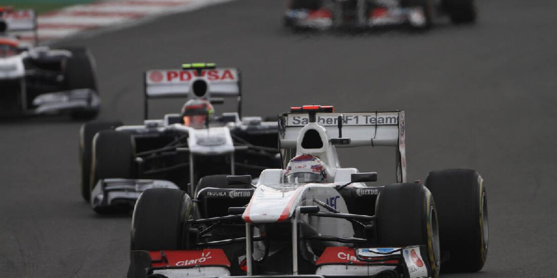 Kamui Kobayashi - Formel 1 - GP Korea - 16. Oktober 2011