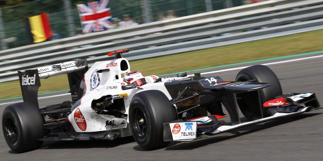 Kamui Kobayashi GP Belgien 2012