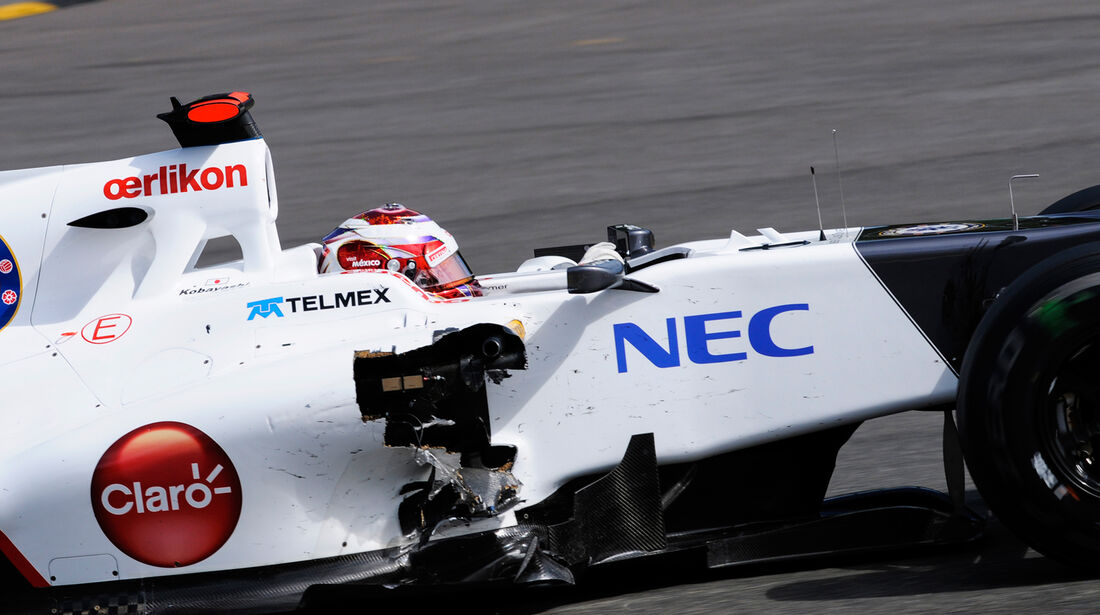 Kamui Kobayashi - GP Belgien 2012