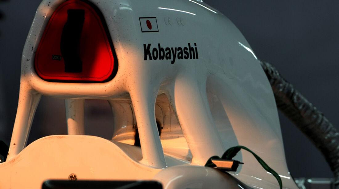 Kamui Kobayashi - GP Indien - Delhi - 29.10.2011