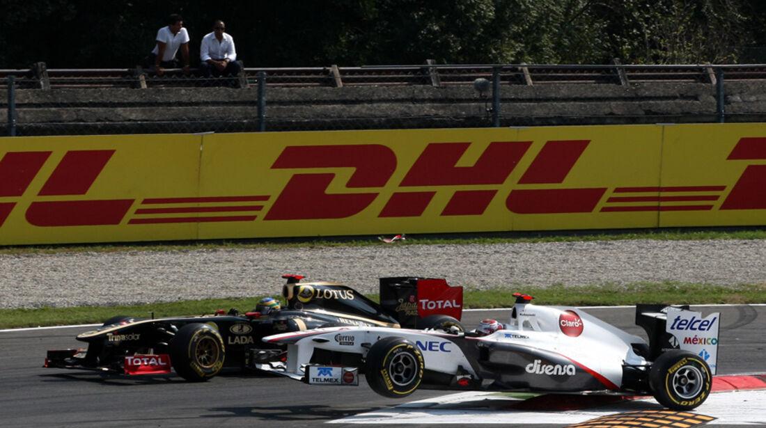 Kamui Kobayashi GP Italien Monza 2011