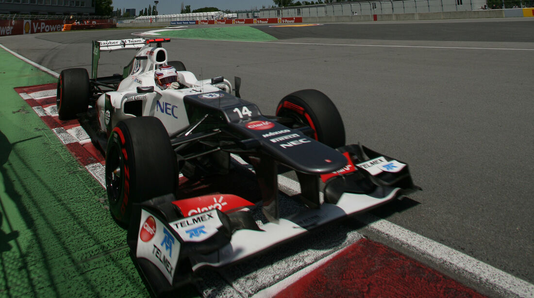 Kamui Kobayashi GP Kanada 2012