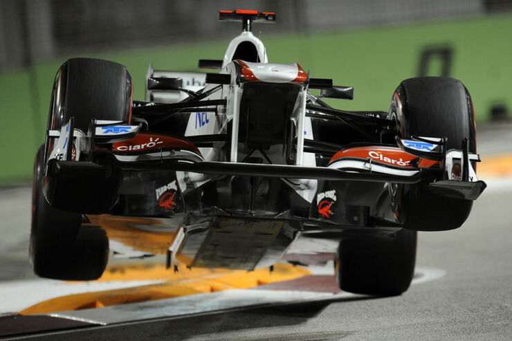 Kamui Kobayashi - GP Singapur - 24. September 2011