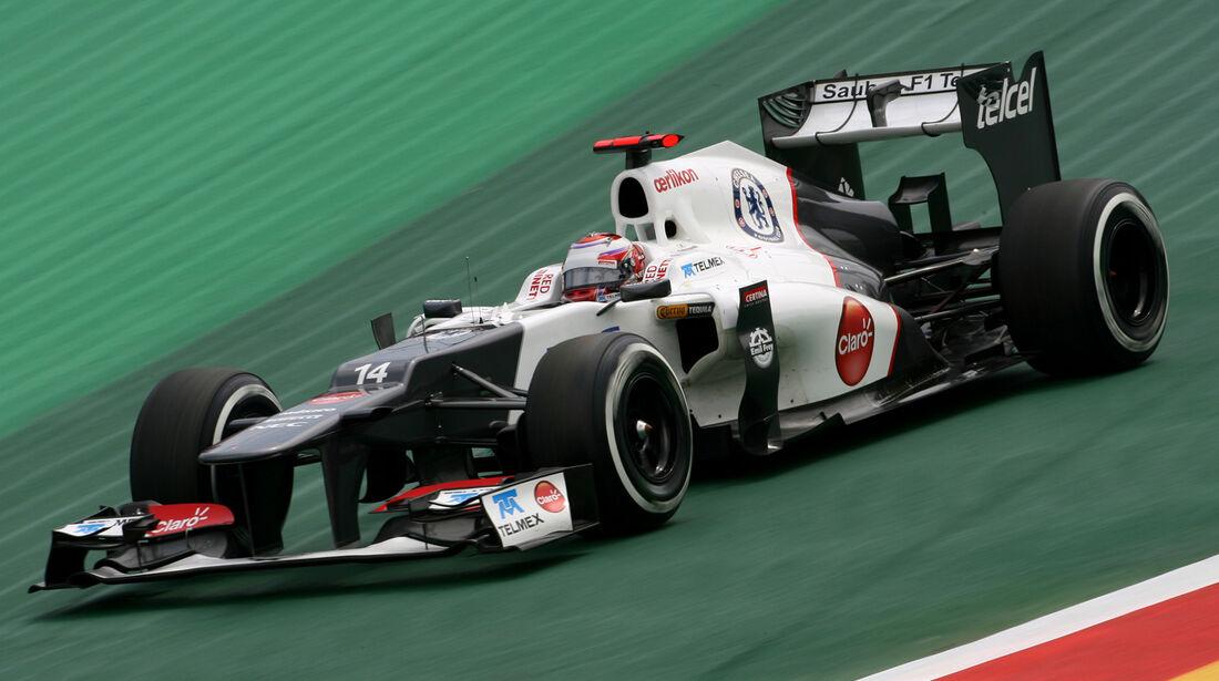 Kamui Kobayashi - Sauber - Formel 1 - GP Brasilien - Sao Paulo - 24. November 2012
