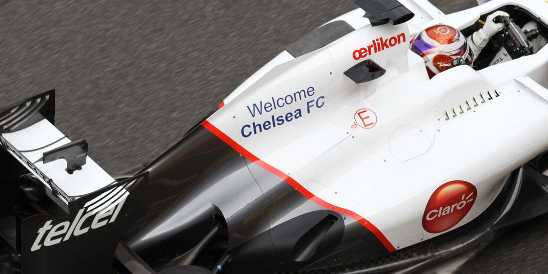 Kamui Kobayashi - Sauber - Formel 1-Test - Mugello - 1. Mai 2012