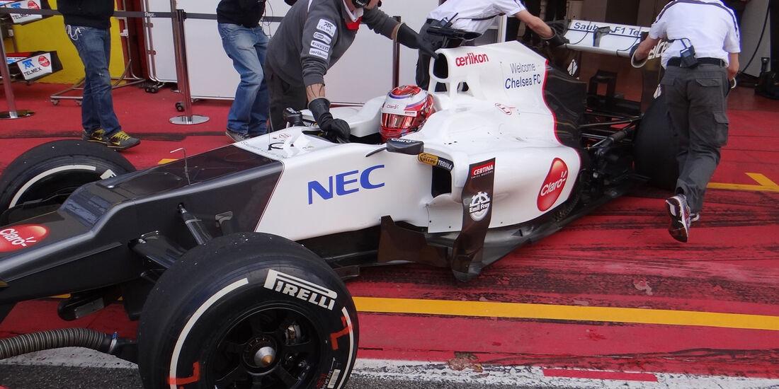 Kamui Kobayashi - Sauber - Formel 1-Test - Mugello - 2. Mai 2012