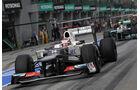 Kamui Kobayashi - Sauber - GP Malaysia - 24. März 2012