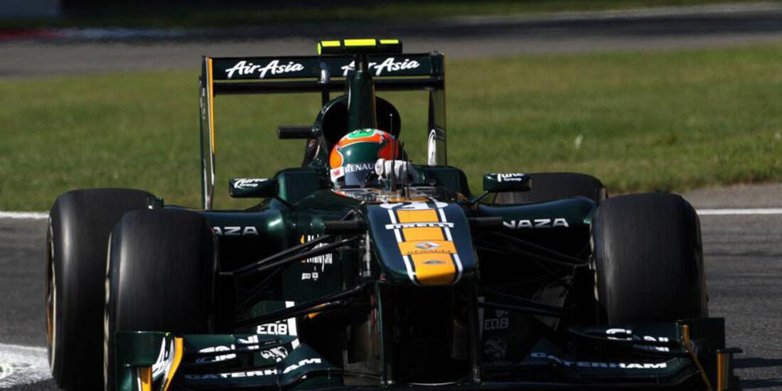 Karun Chandhok - GP Italien - Monza - 9. September 2011