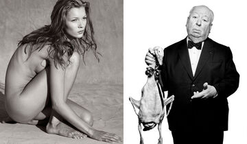 Kate Moss / Alfred Hitchcock
