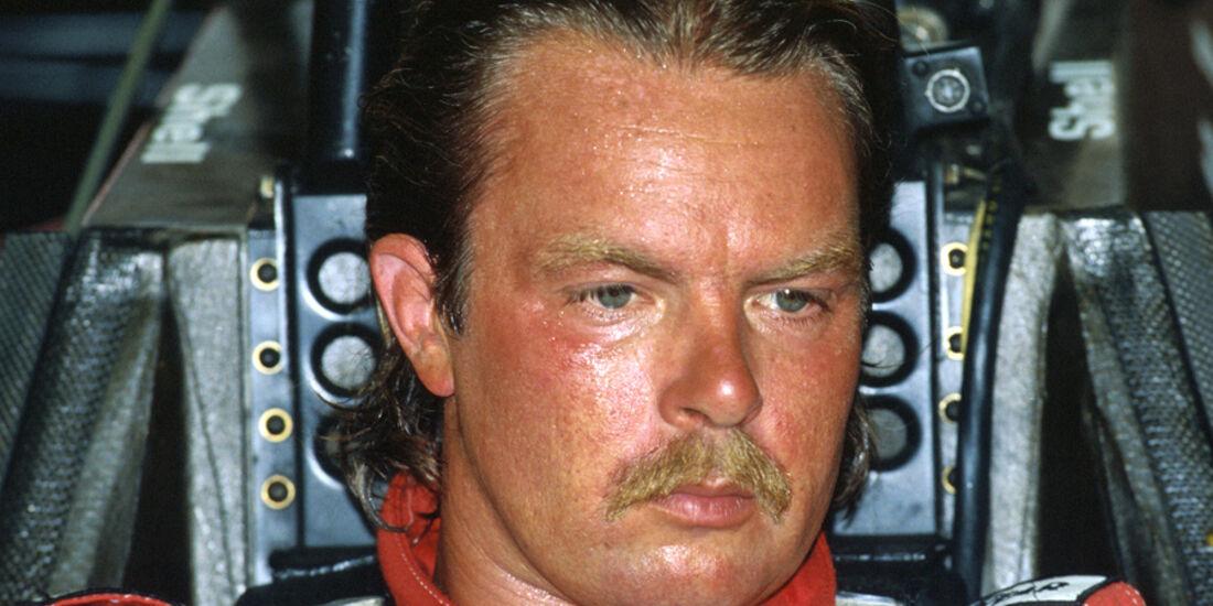 Keke Rosberg 1986 McLaren