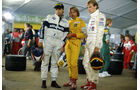 Keke Rosberg, Nelson Piquet & Stefan Bellof - 1985