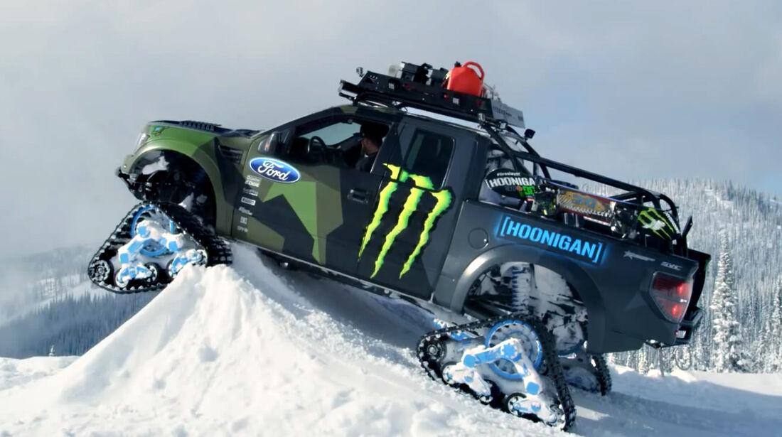 Ken Block - F150 Raptor SVT - Monster RaptorTraxx - 2014