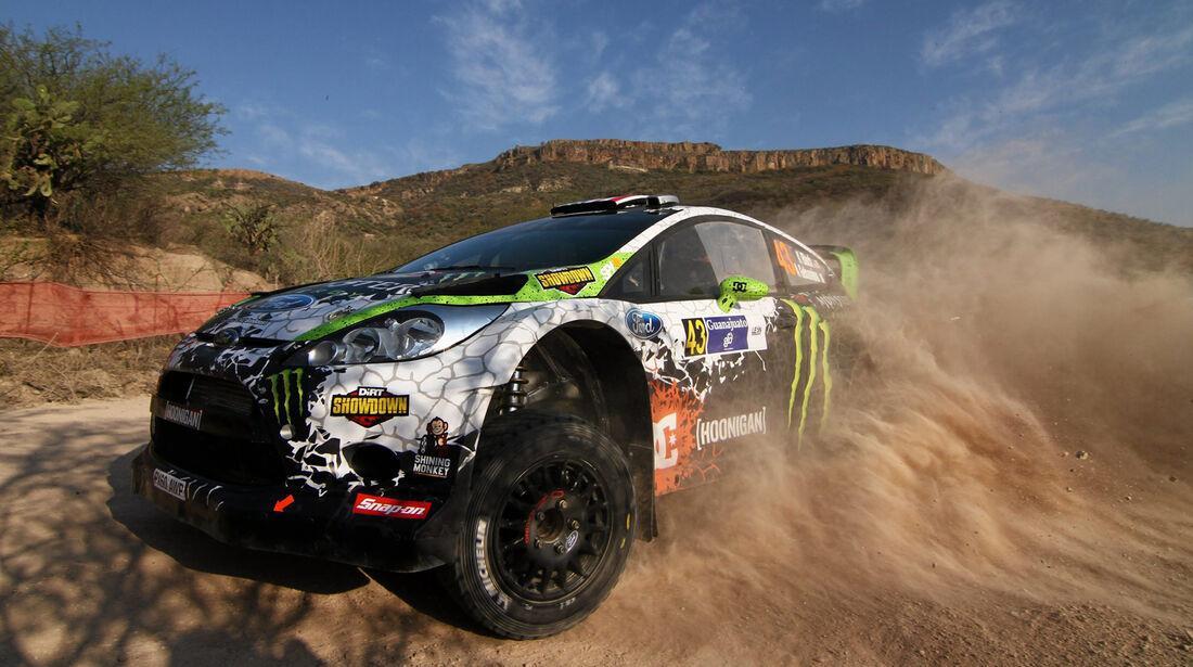 Ken Block WRC Rallye Mexiko 2012