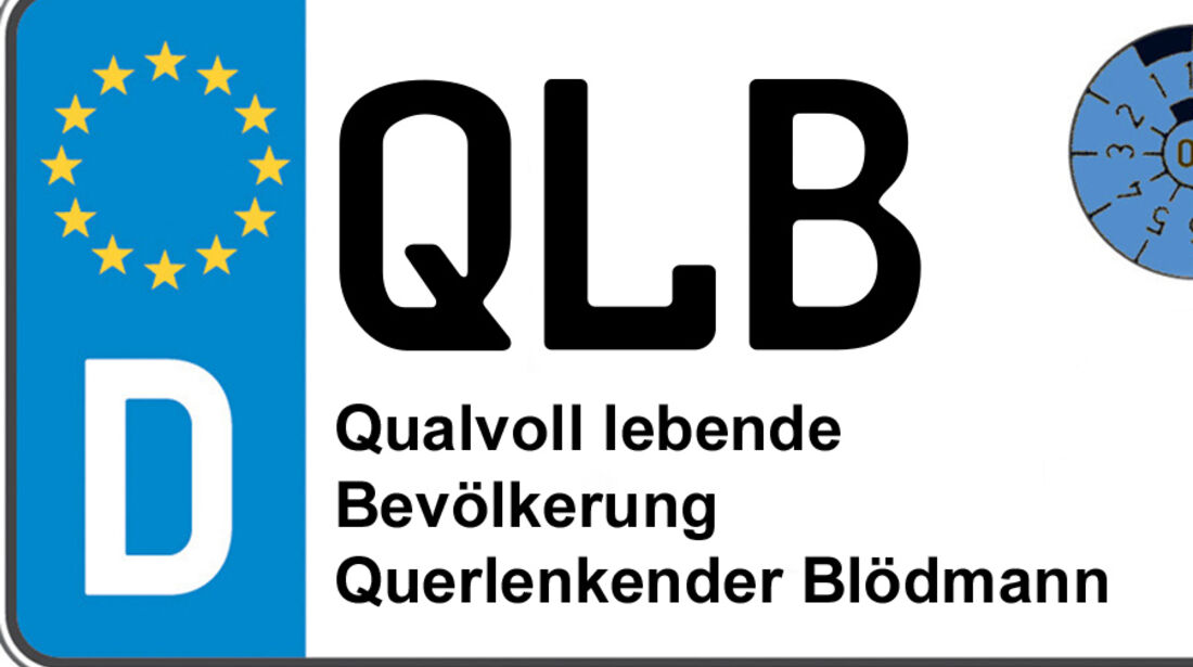 Kennzeichen-Bedeutung QLB Quedlinburg
