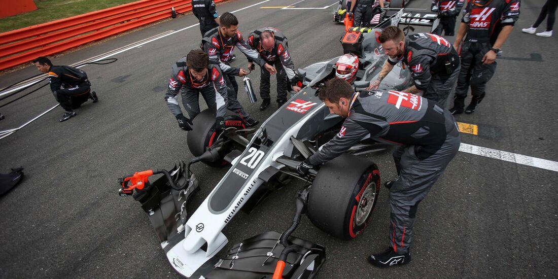 Kevin Magnussen - Haas - Formel 1 - GP England - 16. Juli 2017