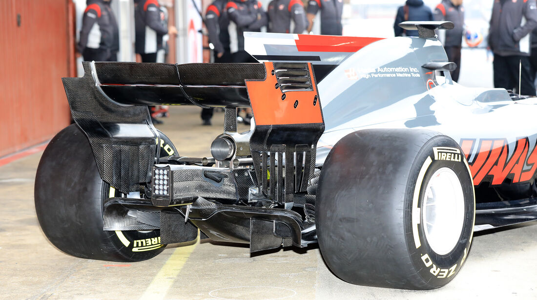 Kevin Magnussen - HaasF1 - F1-Test - Barcelona - 27. Februar 2017
