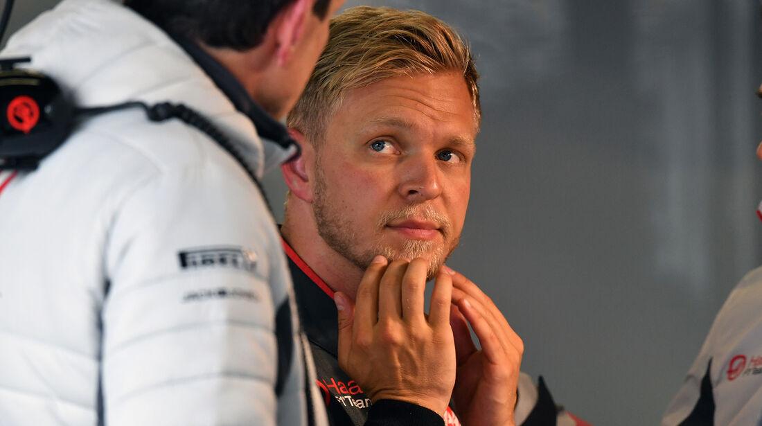 Kevin Magnussen - HaasF1 - Formel 1 - GP China - Shanghai - 14. April 2018
