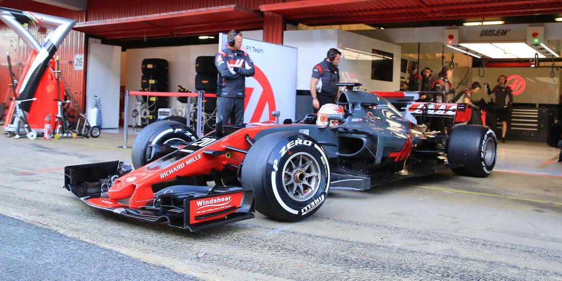 Kevin Magnussen - HaasF1 - Formel 1 - Test - Barcelona - 7. März 2017
