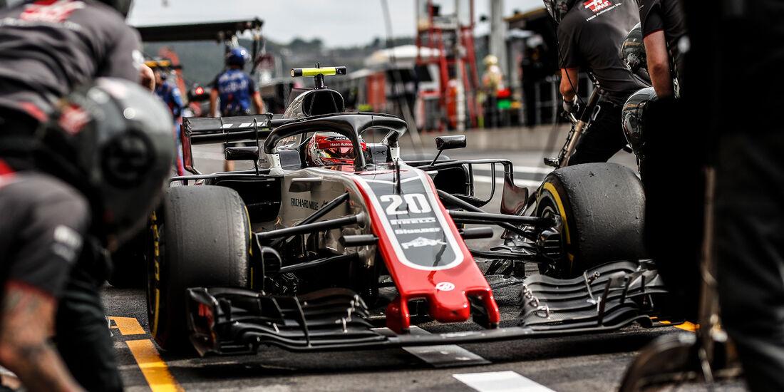 Kevin Magnussen - HaasF1 - GP Belgien - Spa-Francorchamps - 24. August 2018