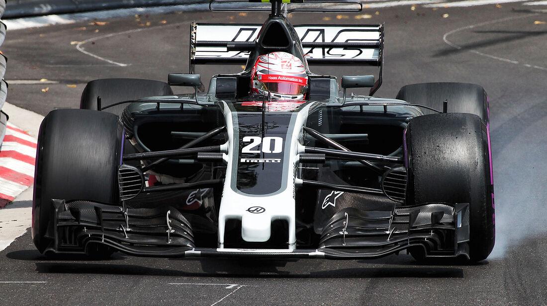 Kevin Magnussen - HaasF1 - GP Monaco - Formel 1 - 25. Mai 2017