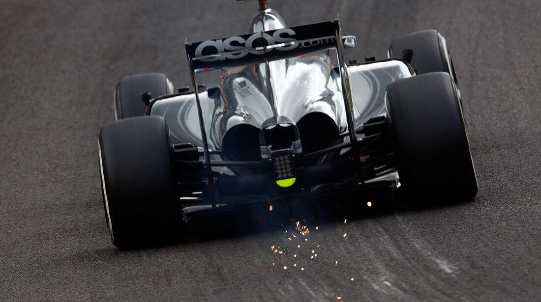 Kevin Magnussen - McLaren - Formel 1 - GP Belgien - Spa-Francorchamps - 23. November 2014