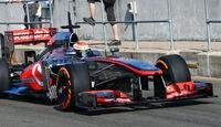 Kevin Magnussen - McLaren - Young Driver Test - Silverstone - 17. Juli 2013