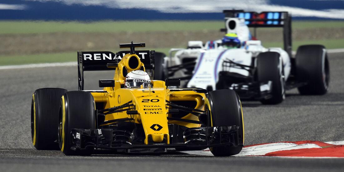Kevin Magnussen - Renault - Formel 1 - GP Bahrain - 1. April 2016