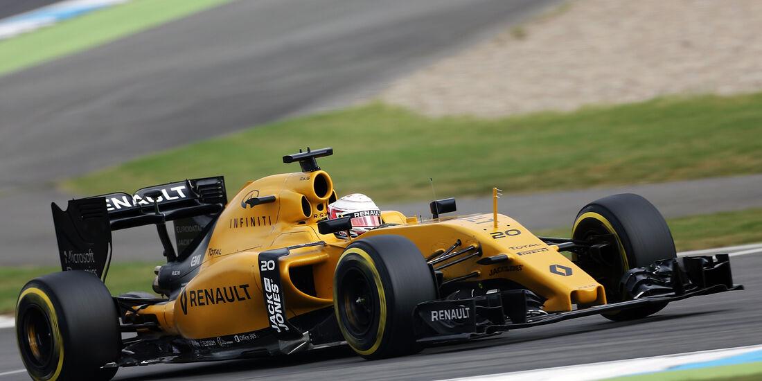 Kevin Magnussen - Renault - GP Deutschland - Formel 1 - 29. Juli 2016
