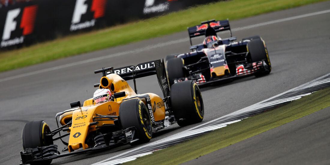 Kevin Magnussen - Renault - GP England - Silverstone - Qualifying - Samstag - 9.7.2016