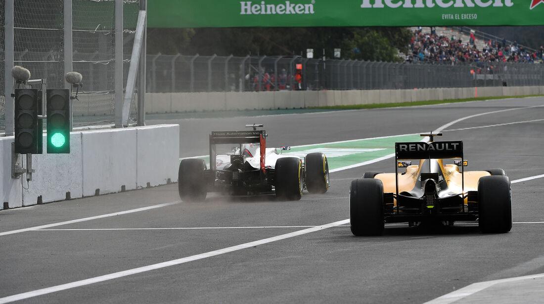 Kevin Magnussen & Romain Grosjean - Formel 1 - GP Mexiko - 28. Oktober 2016