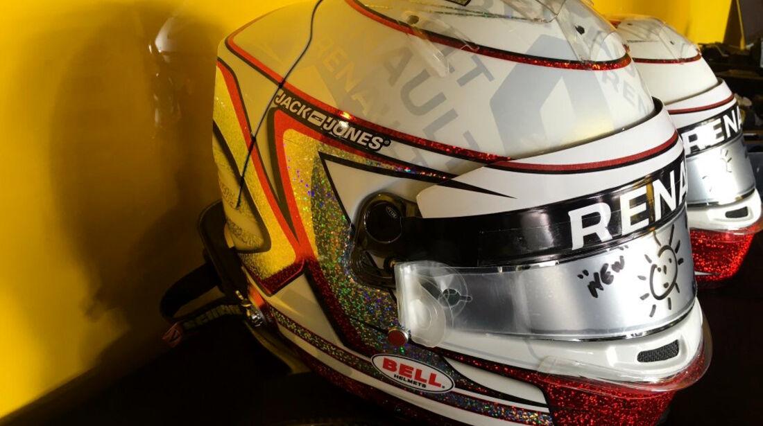 Kevin Magnussen - Spezialhelm - GP Monaco 2016