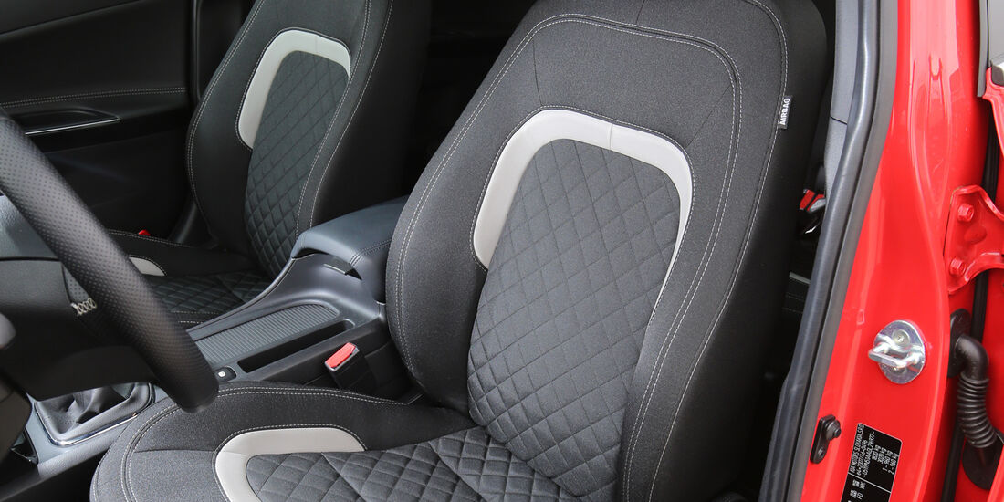 Kia Cee'd 1.0 T-GDI, Fahrersitz