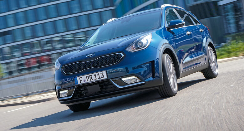 kia niro tests auto motor und sport. Black Bedroom Furniture Sets. Home Design Ideas