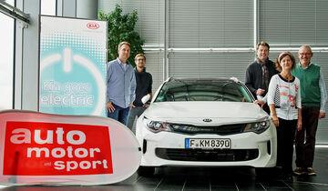 Kia Niro Hybrid, Lesertestdrive, Kia goes Electric
