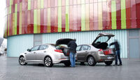 Kia Optima 1.7 CRDi Spirit, Renault Laguna Energy dCi 150, Heckklappe