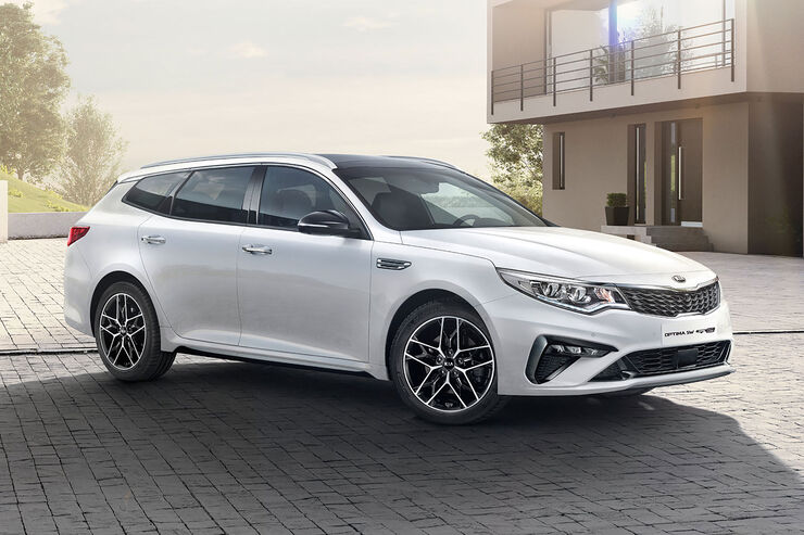 Kia Optima Facelift 2018